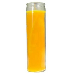 Yellow 7-Day Jar Candle