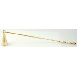 Long Brass Candle Snuffer