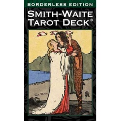 Smith-Waite Borderless Tarot Deck By Pamela Colman Smith