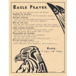 Eagle Prayer Poster
