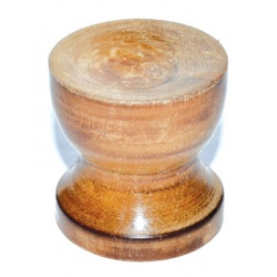 Wood Gazing Ball Stand (3/Pk)