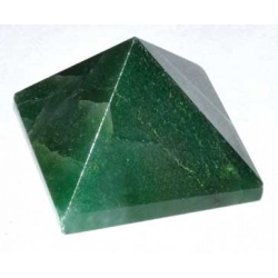 25-30mm Emerald Fuchsite Pyramid
