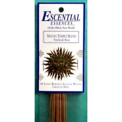 Mayan Temple Essential Essences Incense Sticks 16 Pack