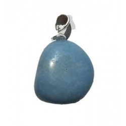 Medium Angelite Tumbled Pendant