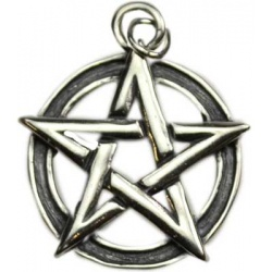 Pentacle Pendant Sterling