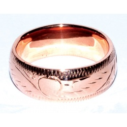 8mm Band Size 10 Copper