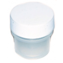 Plastic Wide Top Bottle 1/4oz (2 Dram)