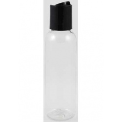 2oz Clear Plastic Bottle