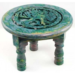 Round Tree Of Life Altar Table 6