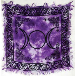Triple Moon Altar Cloth 18\