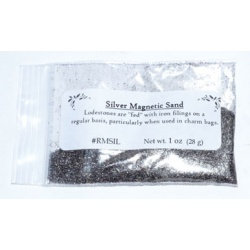 Silver Magnetic Sand (Lodestone Food) 1oz