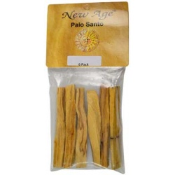 6 Pack Palo Santo Smudge Sticks 3 1/2\