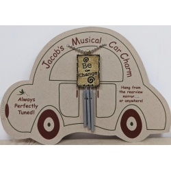 Jacob's Musical Car Charm - Be the Change