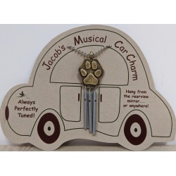 Jacob's Musical Car Charm - Fatima Hand
